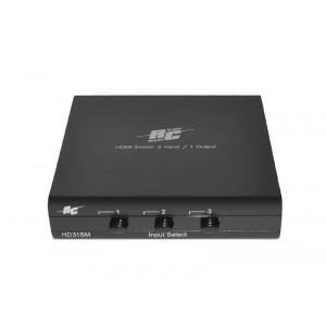 Real Cable - HD31SM - Switch HDMI 3 entrées