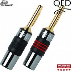 Qed Airloc Fiche métal 4mm (lot de 4)