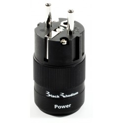 Black Rhodium POWER Rhodium Schuko Plug