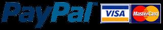 paypal/Mastercard/Visa